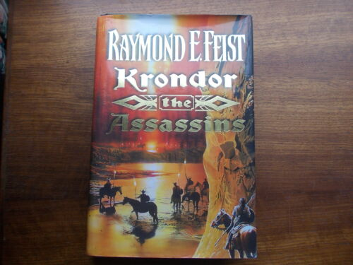 1 of 1 - Raymond E Feist Kronor the assassins hc/dj 1st edition riftwar legacy 2