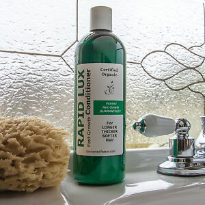 Rapid Lux Organic Fortifying Conditioner to Grow Hair Thick Long Fast & Healthy