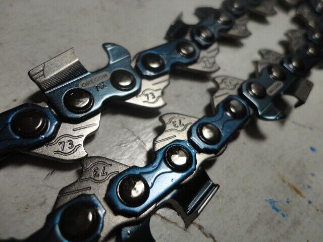 """5  73LPX068G Oregon full chisel 18/"""" chainsaw chain 3//8 .058 68 DL 73LPX 68"""