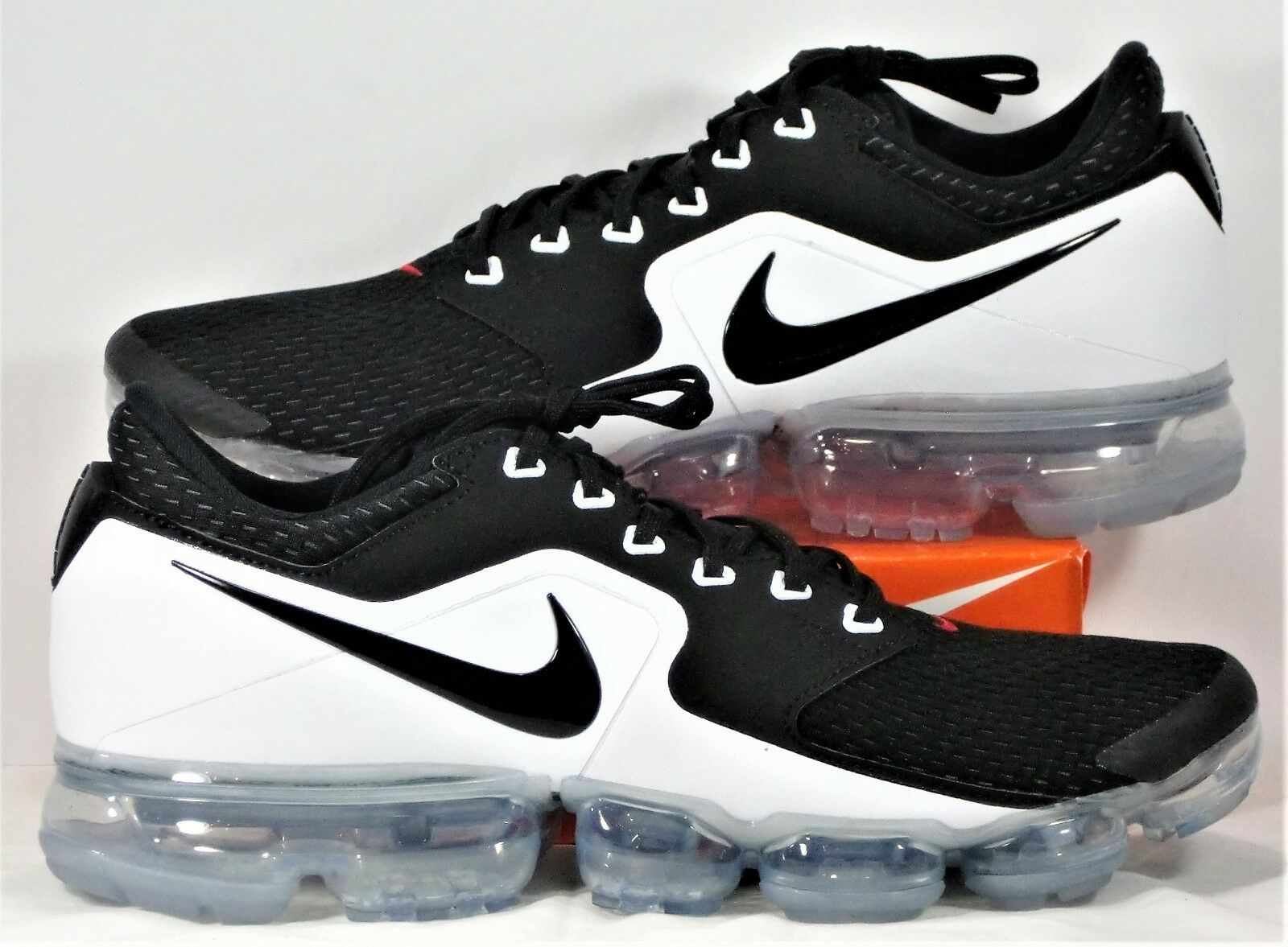 timeless design 7a0de a278c Nike Air VaporMax VaporMax VaporMax Vapor Max CS Black   White Running Shoes  Sz 10 NEW