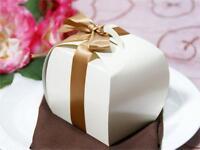 100 Ivory Cupcake Purse Unique Favors Boxes For Wedding Party Wholesale Discount