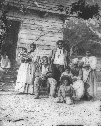 Five Generations of Slaves Smith/'s Plant SC 8x10 US Civil War Photo Beaufort