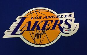 Brian Cook Signed Los Angeles Lakers Magnet - PSA/DNA # Y95647