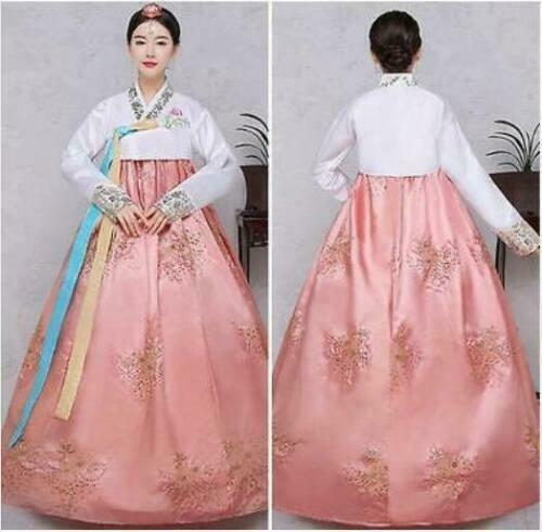 Hanbok Dress Korean Traditional Dresses National Costumes Women kimono Size S-XL