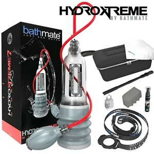 Bathmate HydroXtreme7 Wide Boy Penis Pump Enlarger Sviluppatore per Pene