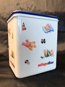 ORIGINAL-amp-RAR-Vintage-Milupa-Box-mit-Deckel-Super-Zustand