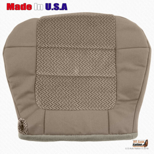 2001 2002 2003 Ford F150 XLT Passenger Bottom Replacement Cloth Seat Cover Tan