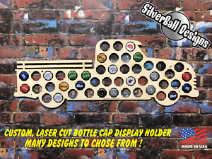 Old-Truck-Custom-Beer-Pop-Cap-Holder-Collection-Display-Art-Gift-Man-Cave-Chevy