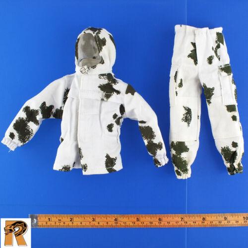 Uniform Set Arctic Combat 21 Toys Action Figures - 1//6 Scale White Camo