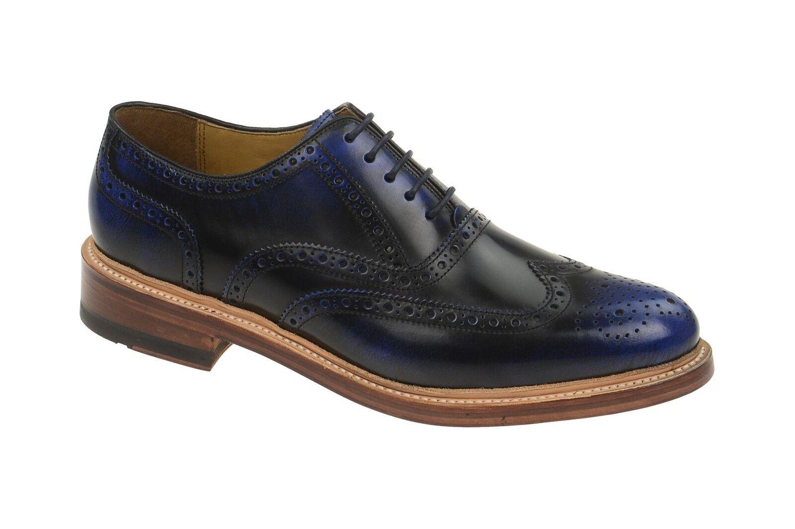 Gordon & & & Bros. Schuhe LEVET blau Herrenschuhe rahmengenähte Schuhe 2506 Blau NEU  Schnelle Lieferung