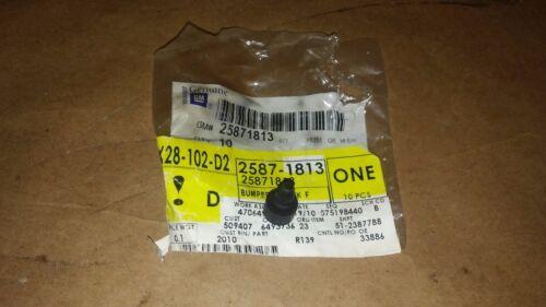 07-14 SILVERADO SIERRA GAS TANK FUEL FILLER DOOR RUBBER BUMPER STOP 25871813
