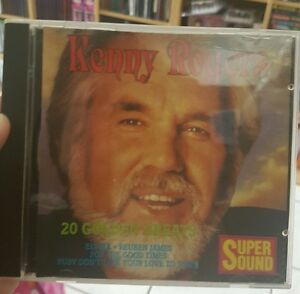Kenny-Rogers-20-Golden-Greats-MUSIC-CD-FREE-POST