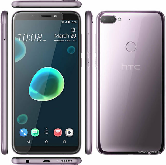 HTC Desire 12+ Plus Unlocked 32GB 3GB RAM Dual Sim 4G LTE Phone - Global  Version