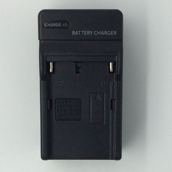 Portable AC Charger for SONY Camcorders&Camera NP-FM50 FM30 InfoLithium Battery