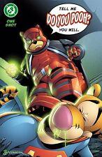 Do You Pooh Batman vs Superman  Homage ECCC  Exclusive  Ltd. Ed 25. Comic Book