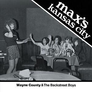 WAYNE-COUNTY-amp-the-Backstreet-Boys-039-Max-039-s-Kansas-City-1976-039-ltd-WHITE-vinyl-7-034