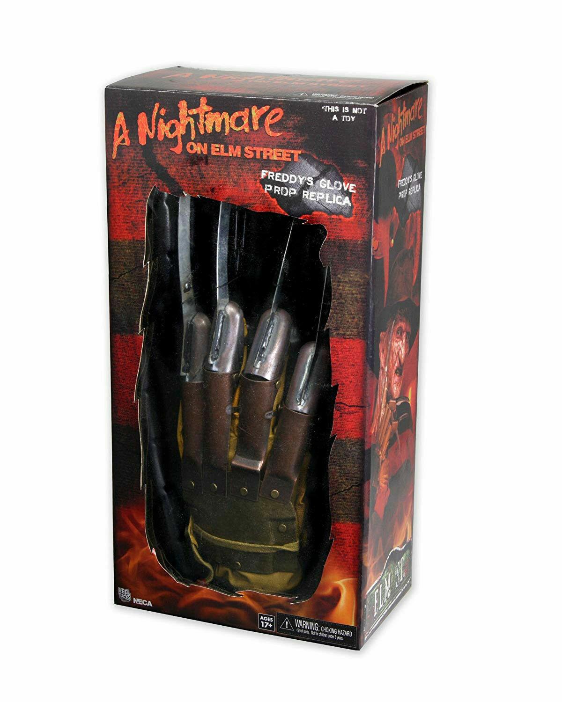 NECA A Nightmare Nightmare Nightmare On Elm Street Frotdy's Prop Replica Glove 1984 Frotdy Krueger 105957