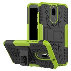 Carcasa-hibrida-2-piezas-Exterior-Verde-Funda-para-Huawei-Mate-10-Lite