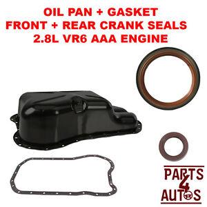 OIL PAN, OIL PAN GASKET KIT; VW JETTA GOLF PASSAT, 2.8 VR6 ...