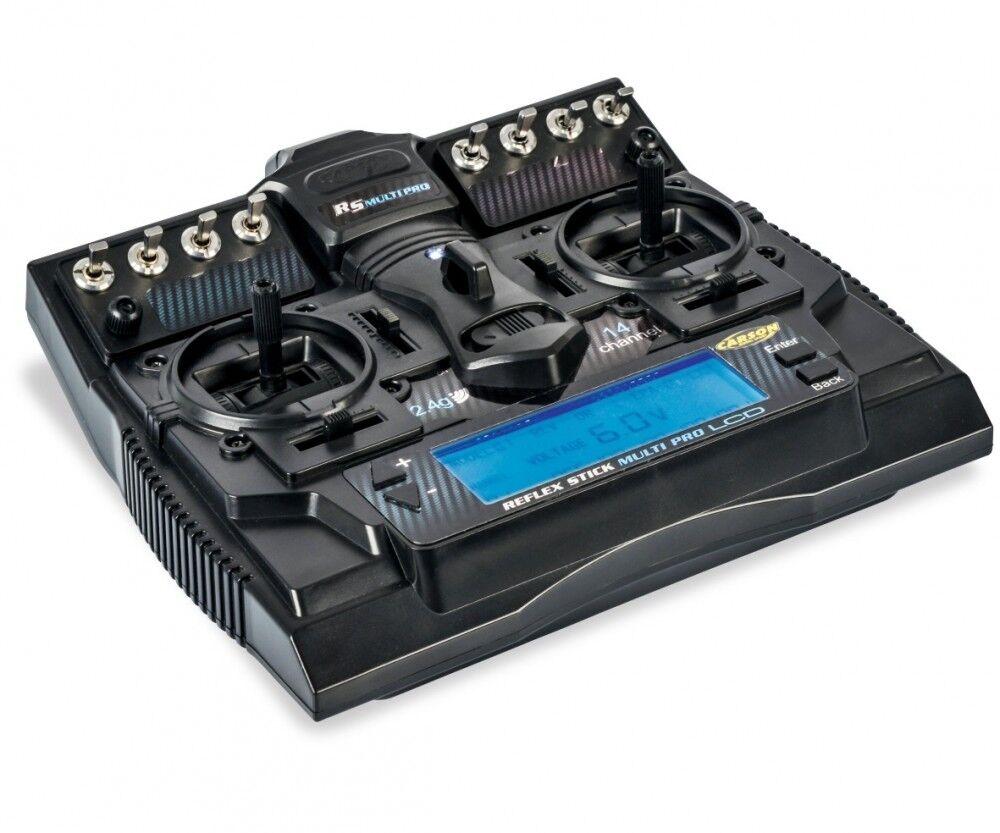 Carson 500501004-FS reflex Stick multi pro LCD 2.4g 14ch-nuevo