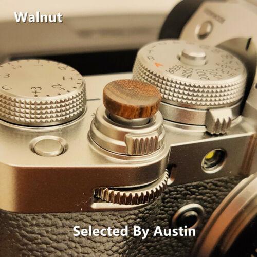 Wooden Shutter Release Button For Fuji XT30 XT20 XT10 FujiFilm XT3 XT2 XPRO3