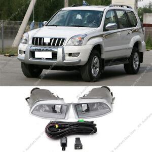 LAND CRUISER PRADO FJ120 MK3 2002-2009 3D//5D LED License Lamp White for TOYOTA