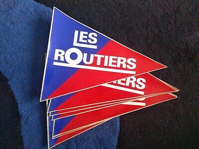 LES ROUTIERS SONT SYMPAS CAMION TRUCK 25cm AUTOCOLLANT STICKER RA119