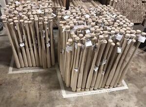 Details About 2 Pack Wooden Blem Baseball Bats Free Shipping