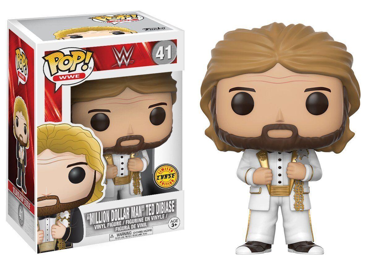 Million Dollar Man Man Man Ted Dibiase Chase Variant POP  WWE  41 Vinyl Figur WWF Funko 8db912