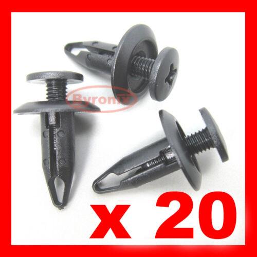 20 Ford Paraurti Passaruota Fodera Splashguard Trim Clip Plastica Fissaggio Clip