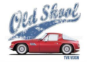 TVR-VIXEN-t-shirt-OLD-SKOOL-CLASSIC-CAR-MODIFIED-RETRO