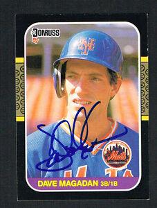 Dave-Magadan-575-signed-autograph-auto-1987-Donruss-Baseball-Trading-Card
