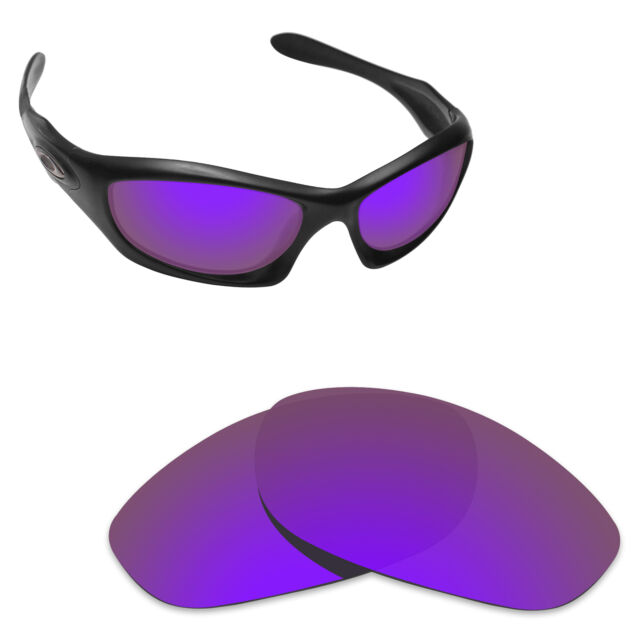 b08ac8243d Hawkry Polarized Replacement Lens for-Oakley Monster Dog Sunglass Purple  Mirror