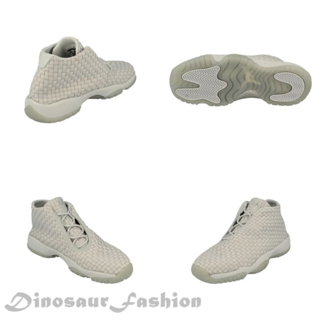timeless design e0a68 edd00 Nike Air Jordan Future Boys Shoe Pure Platinum Metallic 656504-013 Size 7y
