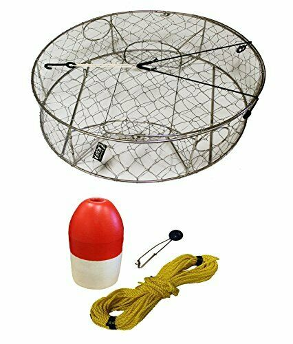 KUFA Stainless Steel  Crab Trap with Zinc Anode & Accessories (CT100+FWP100+ZIN1)  up to 50% off