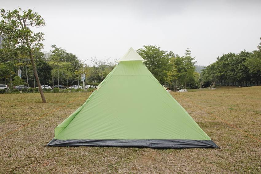 Camping tent 3 person tent Tipi Waterproof Mesh for door Ventilation by Shumaxx