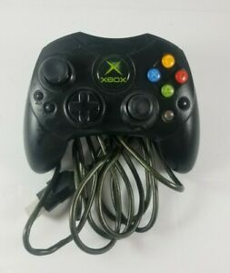 Original-Xbox-Controller-Type-S-Untested-Microsoft-Black-X08-69873-SOLD-AS-IS