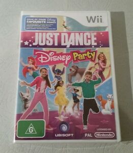 JUST-DANCE-DISNEY-PARTY-vgc-FOR-NINTENDO-Wii-Free-postage