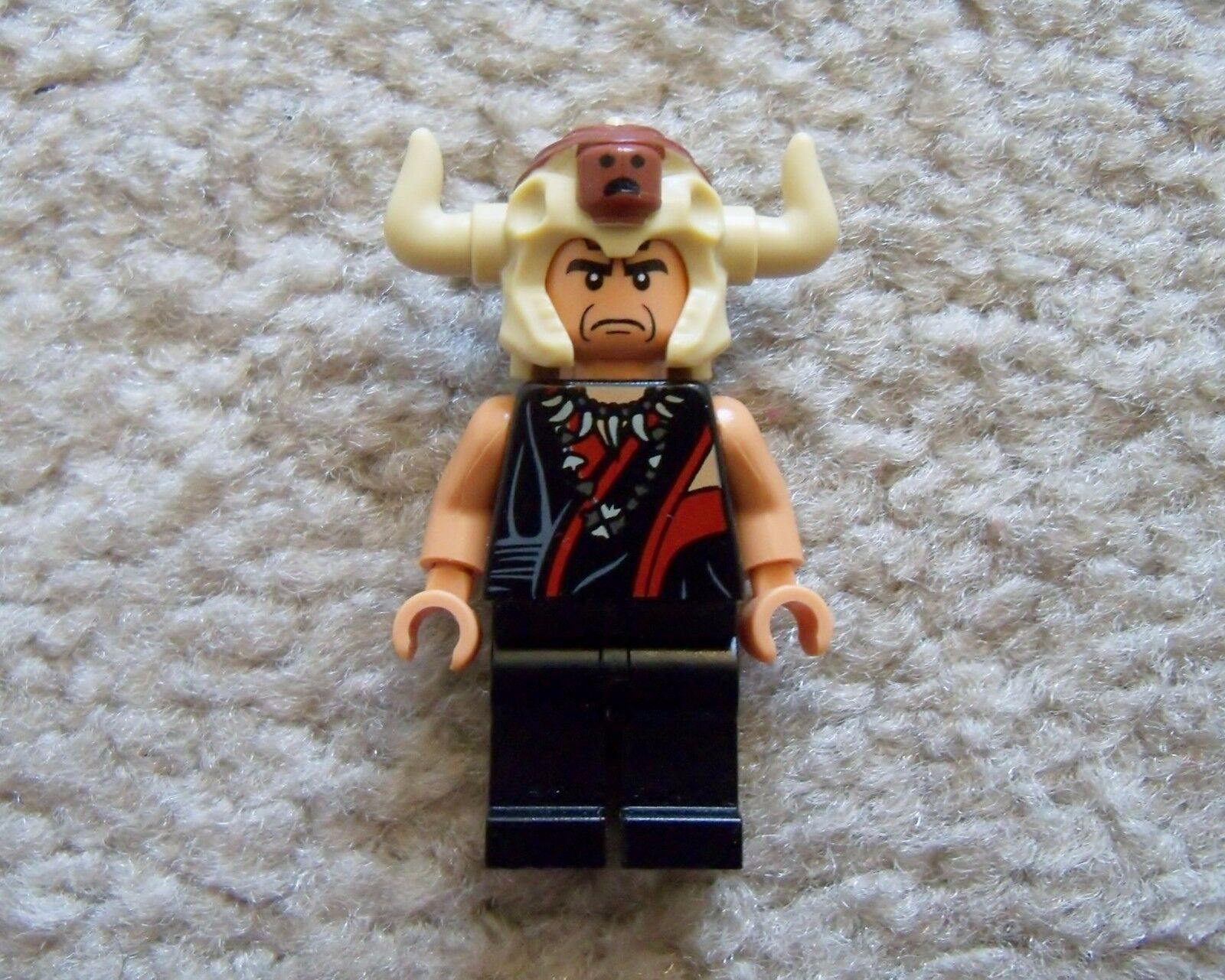 LEGO Indiana Jones - Rare - Mola Ram Minifig - Excellent - From 7199
