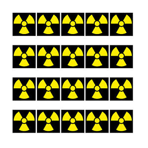 20-Etiquette-1cm-Radioactif-Rayonnement-Signe-Symbole-Mini-Sticker-Modelisme-RC