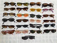 Lot 25 Sunglasses Glasses Eyeglasses Frame Oval Cat Eye CK Guess Hilfiger ++