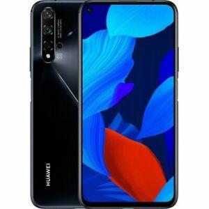 Huawei-Nova-5T-YAL-L21-128GB-Black-Schwarz-Ohne-Simlock-Dual-SIM-NEU