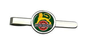 Britannique-Railways-Cyclisme-Lion-Crest-Cravate-Pince