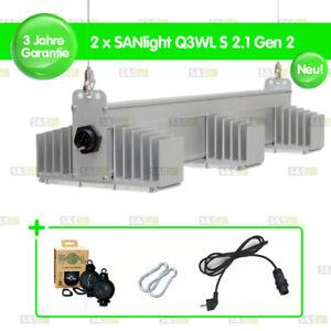 2x SANlight Q3WL S2.1 Gen 2 + Easy Rolls + Netzkabel +Karabiner Langversion