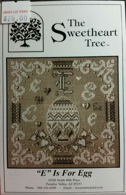 The Sweetheart Tree Kit _ E is for EGG