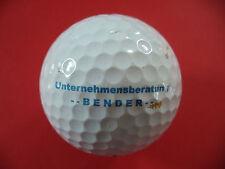 Golfball mit Logo : Unternehmensberatung Bender - TITLEIST PRO V1x - Logoball