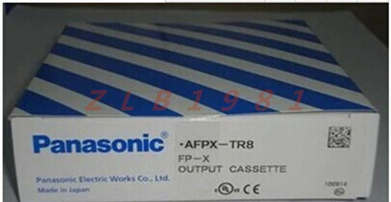 ONE NEW- Panasonic programmable controller AFPX-TR8