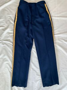 US-Dress-ASU-Blue-Women-039-s-Trouser-DLA-Poly-Wool-NCO-Stripe-30-034-x-31-034-10