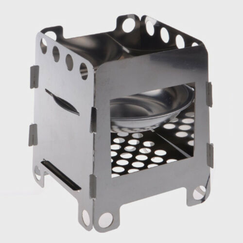 EG/_ LC/_ Outdoor Stove Camping Cooking Picnic BBQ Steel Wood Burner Alcohol Cooke
