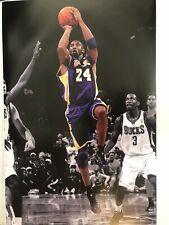 KOBE BRYANT POSTER Amazing Collage Lakers RARE HOT NEW 24x36